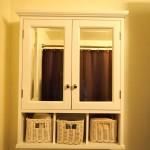 White Wood Framed Mirrors