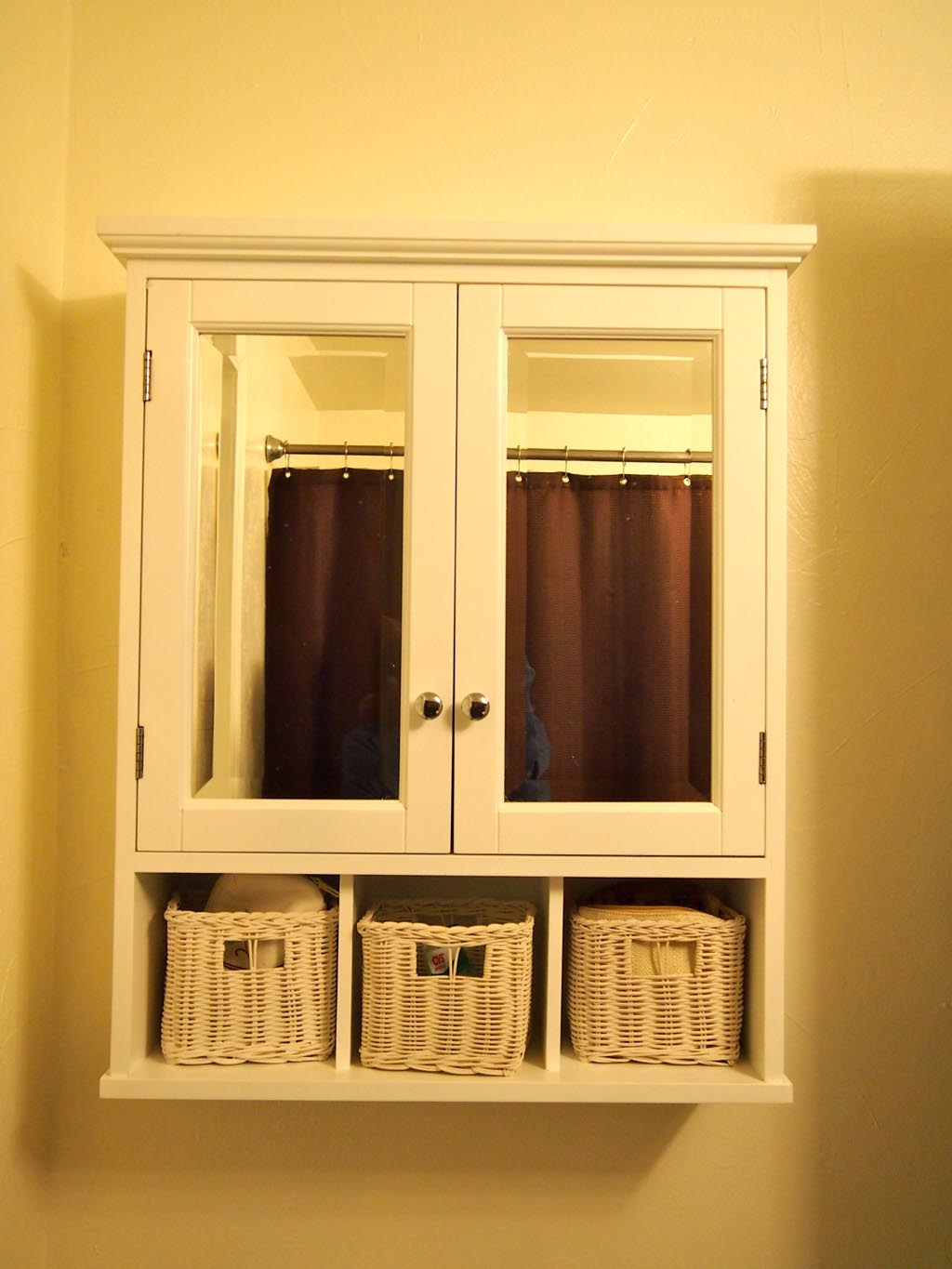White Wood Framed Mirrors