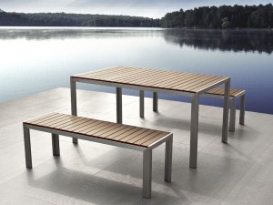 Wood and Metal Garden Furniture