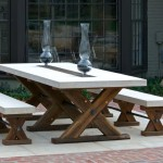 Wood and Metal Patio Furniture