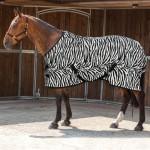 Zebra Print Horse Rug