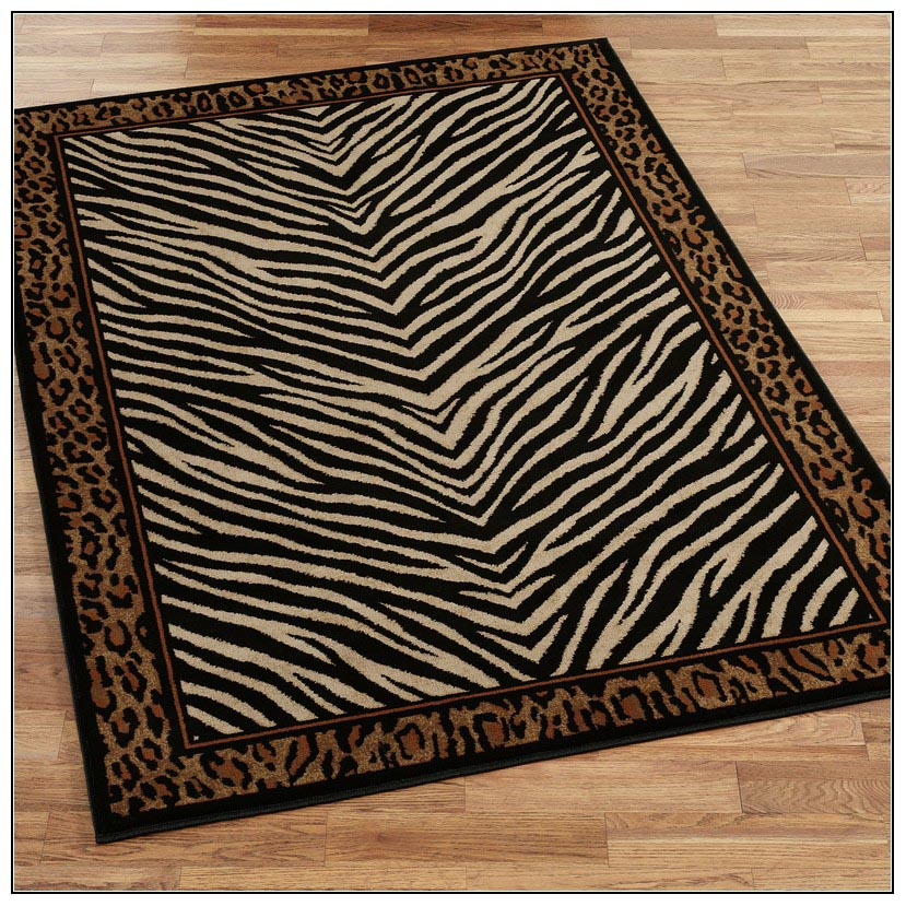 Zebra Print Rug 8 215 10 Best Decor Things